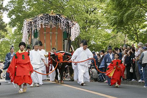葵祭りのようす